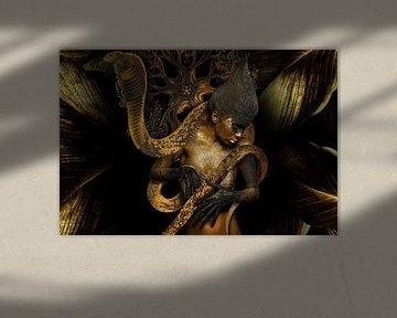 De koningin van het slangenrijk van OEVER.ART