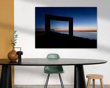 Kleurrijke zonsondergang van JWB Fotografie