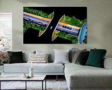 Aquaduct Veluwemeer van FinePixel
