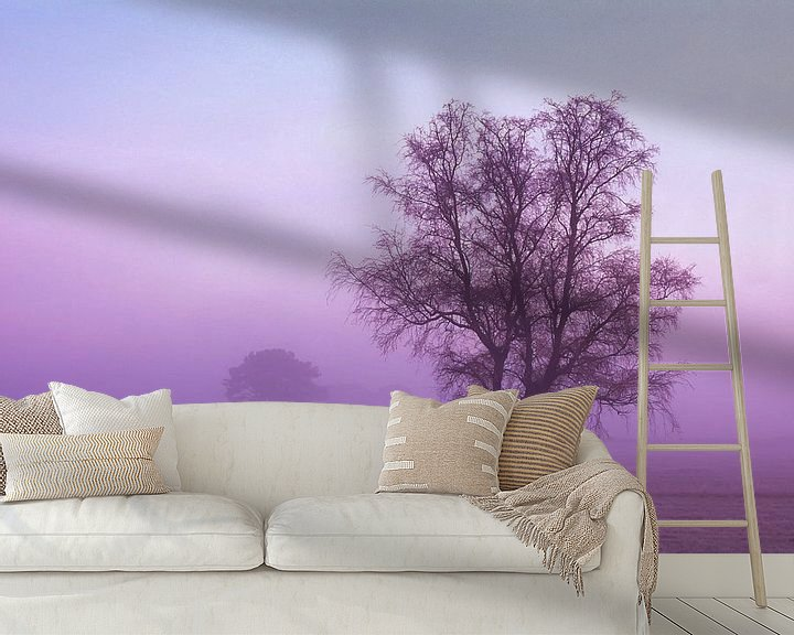 Sfeerimpressie behang: Strabrechtse Heide 171 van Deshamer