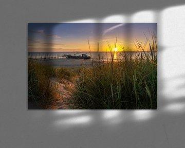 Texel Sunrise van Bart Hendrix