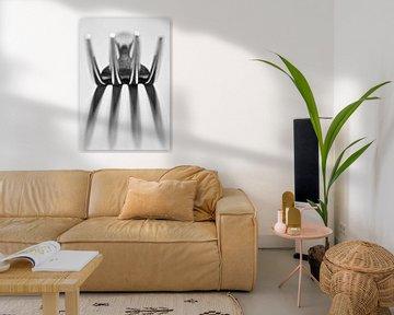 Vork in abstracte vorm van Roel Beurskens