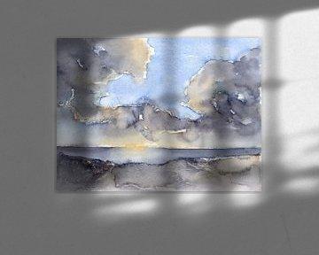 Wolken über dem Meer 3