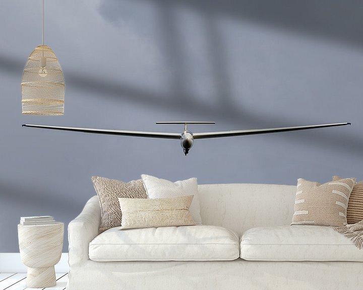 Sfeerimpressie behang: Zweefvliegtuig van Anjo ten Kate