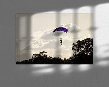 Parachutist van Anjo ten Kate