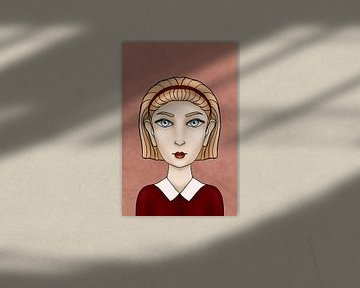 Eens was ik een fee - Marin - Portret van een meisje   Victoria Zotova, Rusland van Buzzles Gallery