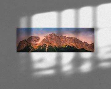 Panoramafoto van De Beierse Alpen