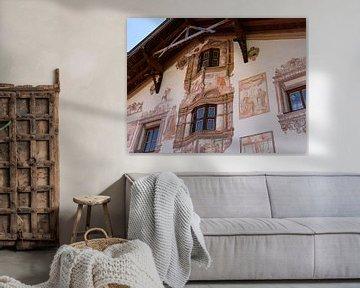 Historisch bemaltes Gebäude von Marieke Funke