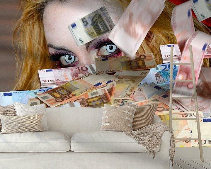 Sfeerimpressie behang: I'm watching you van Fotografie Arthur van Leeuwen