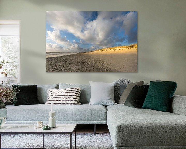 Sfeerimpressie: Zon op de Amelandse duinen van Ron Buist