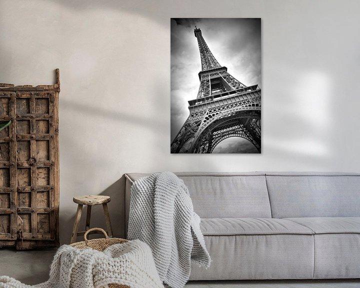 Beispiel: Eiffelturm DYNAMIC von Melanie Viola