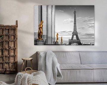 Eiffel Tower PARIS Trocadero van Melanie Viola