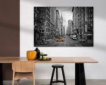 NYC 5th Avenue Verkehr von Melanie Viola