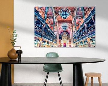 Grote Synagoge van Boedapest van Manjik Pictures