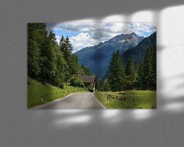Mölltal idyllisch Oostenrijk van Martin Van der Pluym