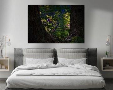 Zwischen den Bäumen von Margreet Frowijn