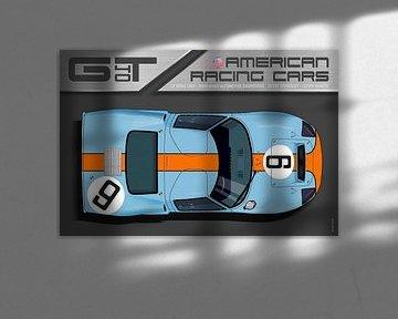 Ford GT40 No.9 von Theodor Decker