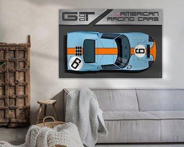 Ford GT40 No.6 von Theodor Decker
