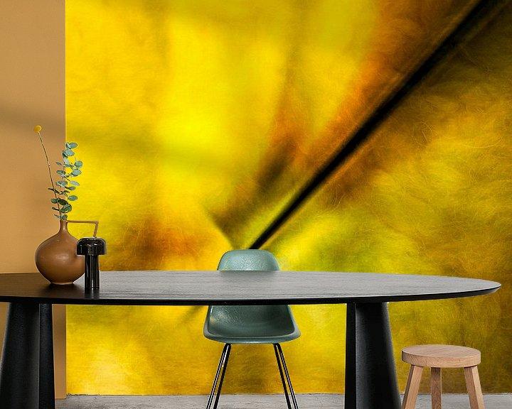 Sfeerimpressie behang: De wereld in een druppel van Dick Jeukens