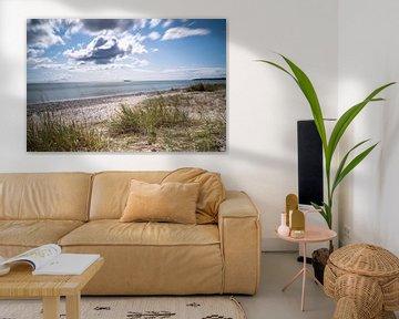 Deense strand bij Draaby Ebeltoft van Tina Linssen