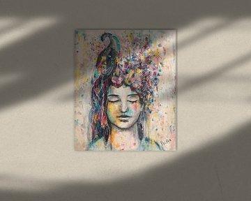 Magische Erinnerungen von Flow Painting