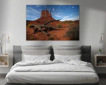 Mittens Butte - Monument Valley van Marcel Schauer