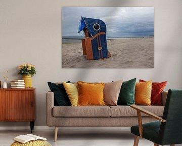 Strandkorb auf der Insel Usedom von t.ART