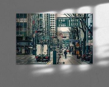 Die Straßen von Seoul. von Mickéle Godderis