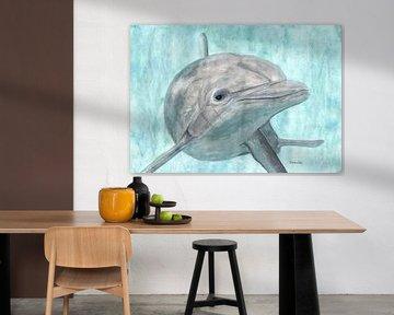 Dolfijn van Sandra Steinke