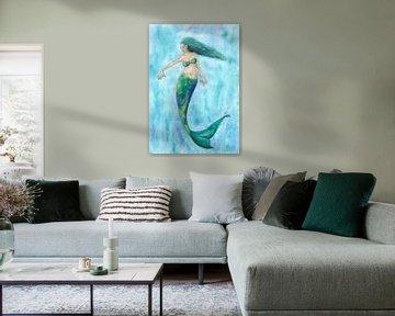 Zeemeermin van Sandra Steinke