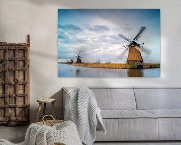 Dutch mills - Kinderdijk van Jan Koppelaar