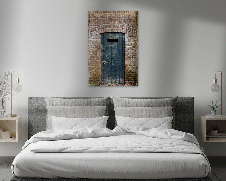 Beispiel: Geschlossene Tür von Anjo ten Kate