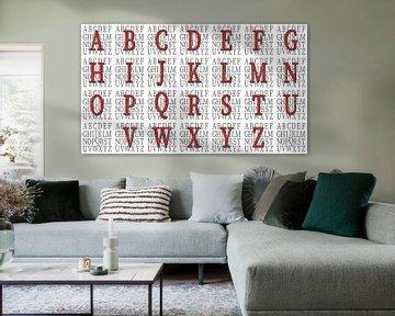 Alfabet nr.17 van Leopold Brix