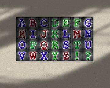Alphabet No.2 sur Leopold Brix