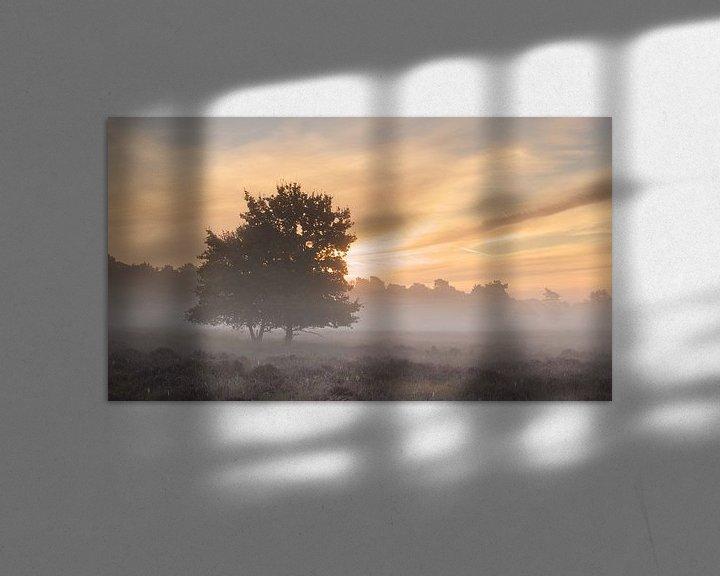 Sfeerimpressie: Mistige zonsopkomst van Art Wittingen
