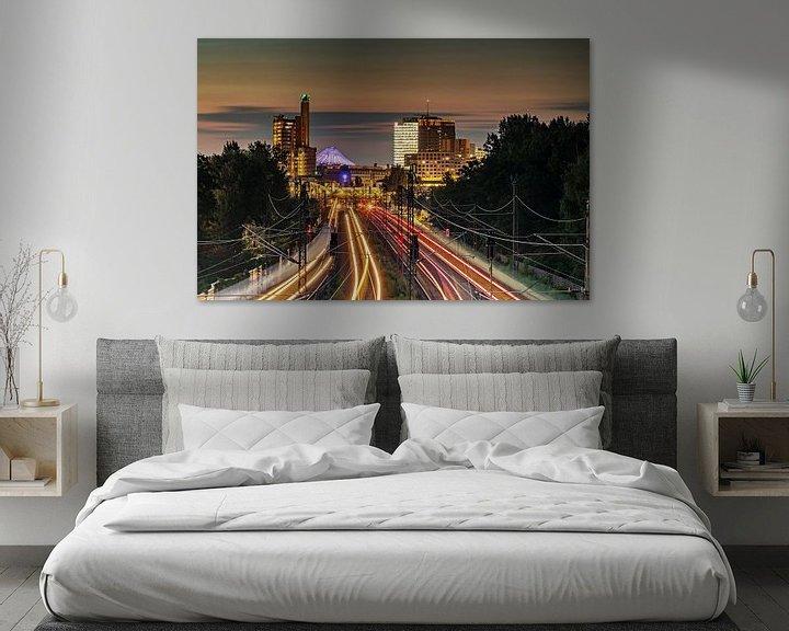 Impression: Berlin Potsdamer Platz Skyline sur Frank Herrmann