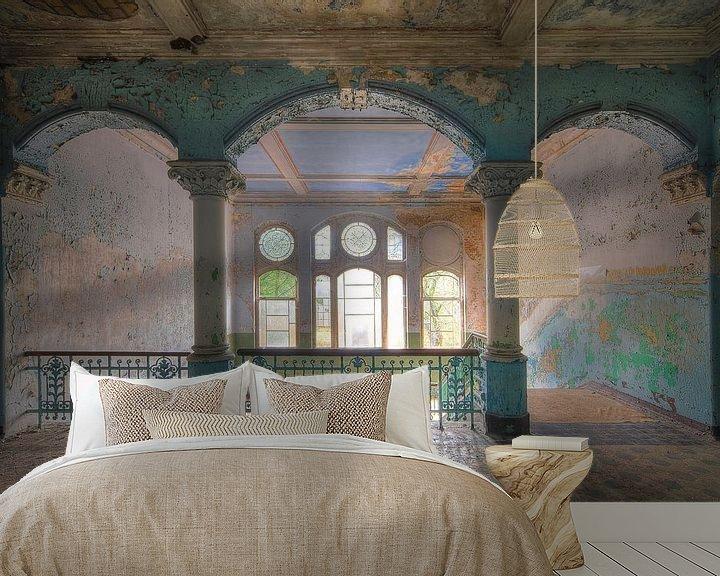 Beispiel fototapete: Majestätisch Beelitz Heilstätten von Truus Nijland