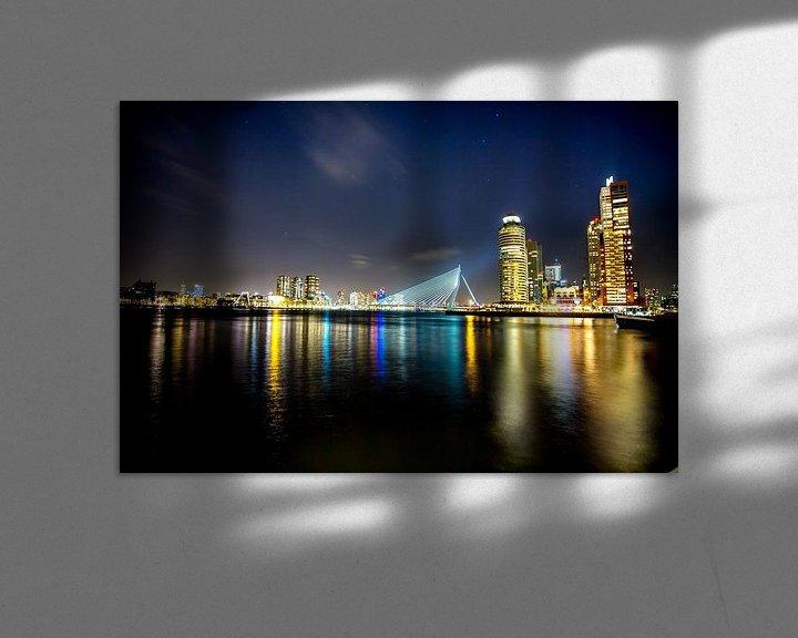 Sfeerimpressie: Rotterdam @night van Jeroen van Alten