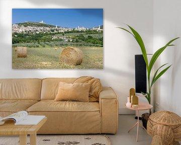 Assisi en Ombrie, Italie