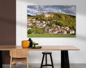 La Rochepot en Bourgogne