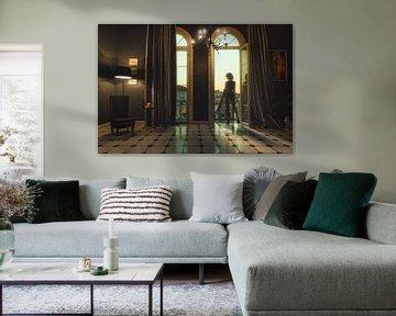 Une chambre avec vue
