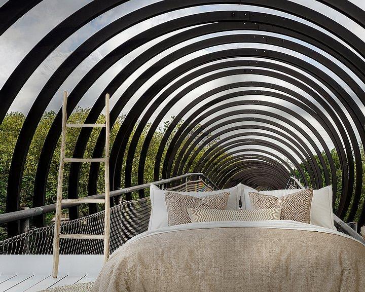 Sfeerimpressie behang: Slinky Spring to Fame van Jan Enthoven Fotografie