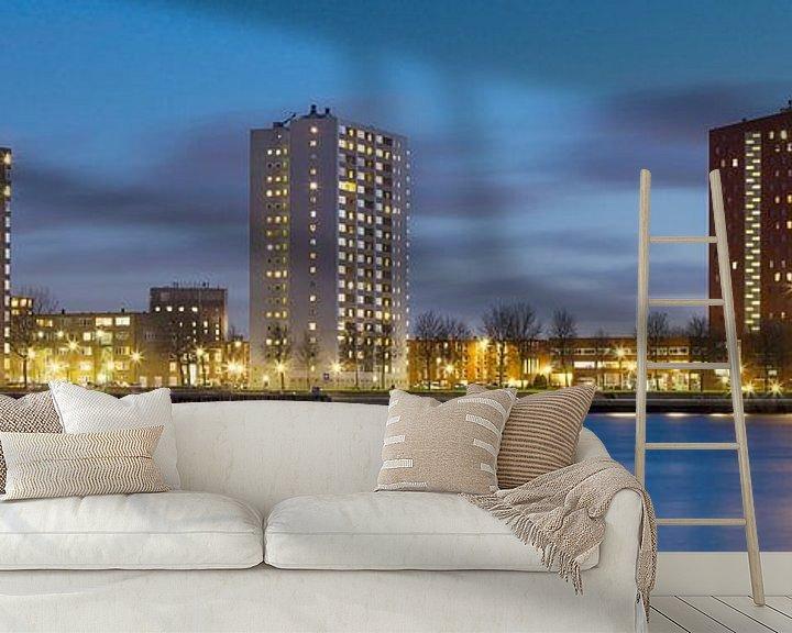 Impression: Skyline de Rotterdam sur Miranda van Hulst