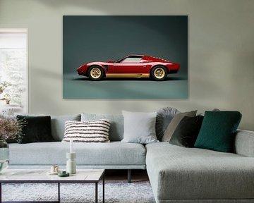 Lamborghini Miura SVJ, 1972