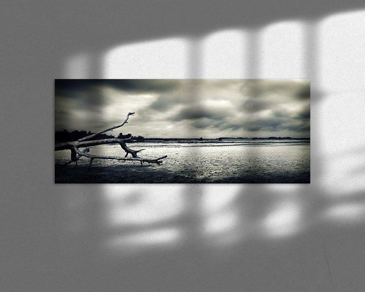 Sfeerimpressie: Drunenseduinen_storm op komst van Jan Brand