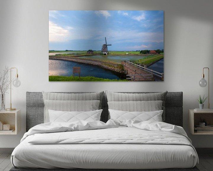 Beispiel: A windmill  on the Island von Brian Morgan