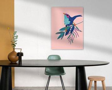 Exotische vogels IV, Omar Escalante van Wild Apple
