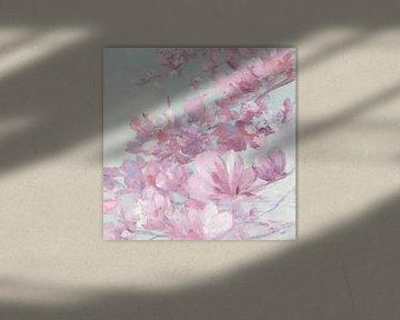 Lente magnolia II, Julia Purinton van Wild Apple