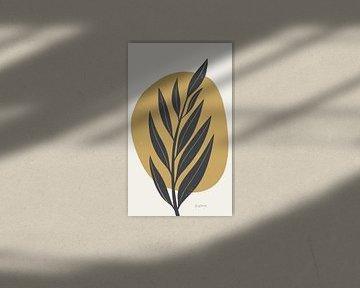 Midden-eeuw Modern IV geel gewas, Becky Thorns van Wild Apple