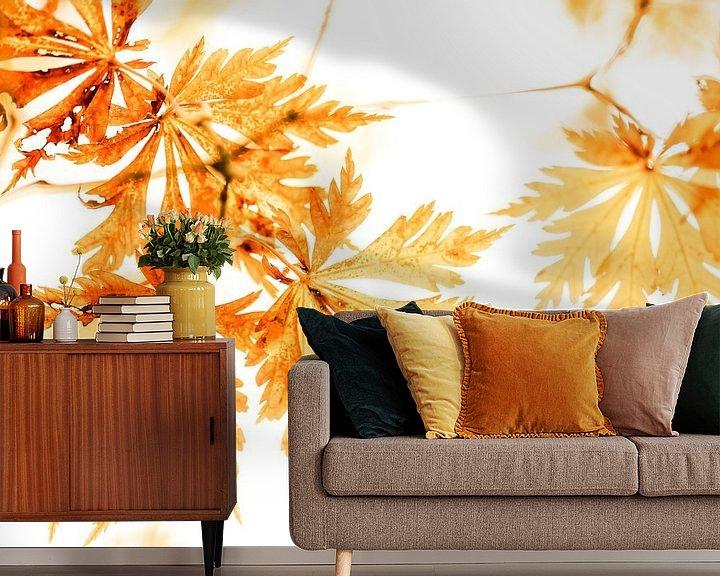 Sfeerimpressie behang: Gold Leafing van Cho Tang